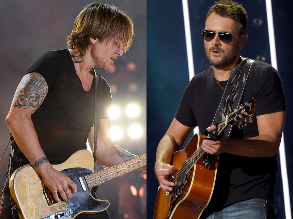 "Keith Urban Teams With Eric Church for New Release of ""We Were"" [Listen]"