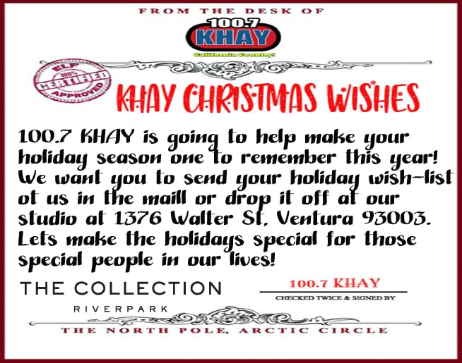 KHAY Christmas Wishes