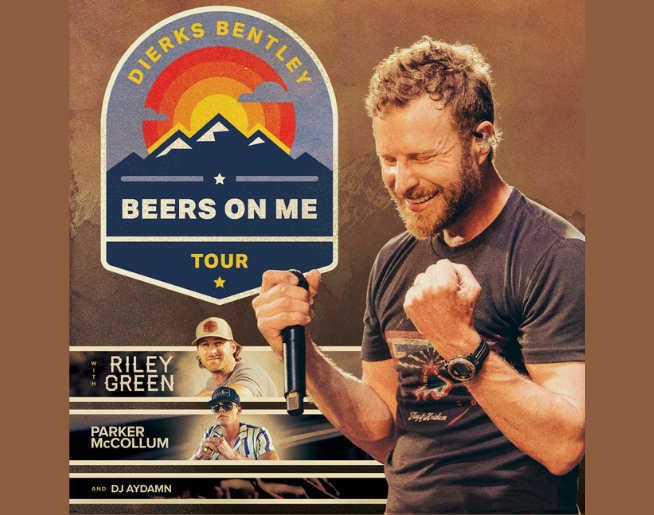 """100.7 KHAY's """"Dierks Bentley"""" Contest Official Rules"""