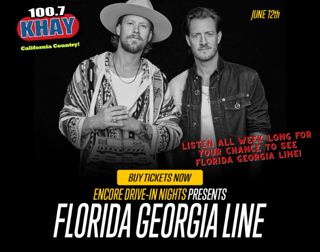 """100.7 KHAY's """"Florida Georgia Line"""" Contest Official Rules"""