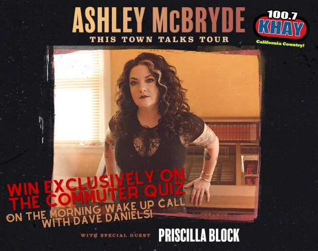 """100.7 KHAY's """"Ashley McBryde"""" Contest Official Rules"""