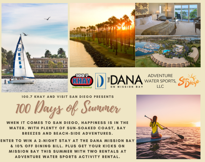 San Diego is Calling – The Dana Mission Bay
