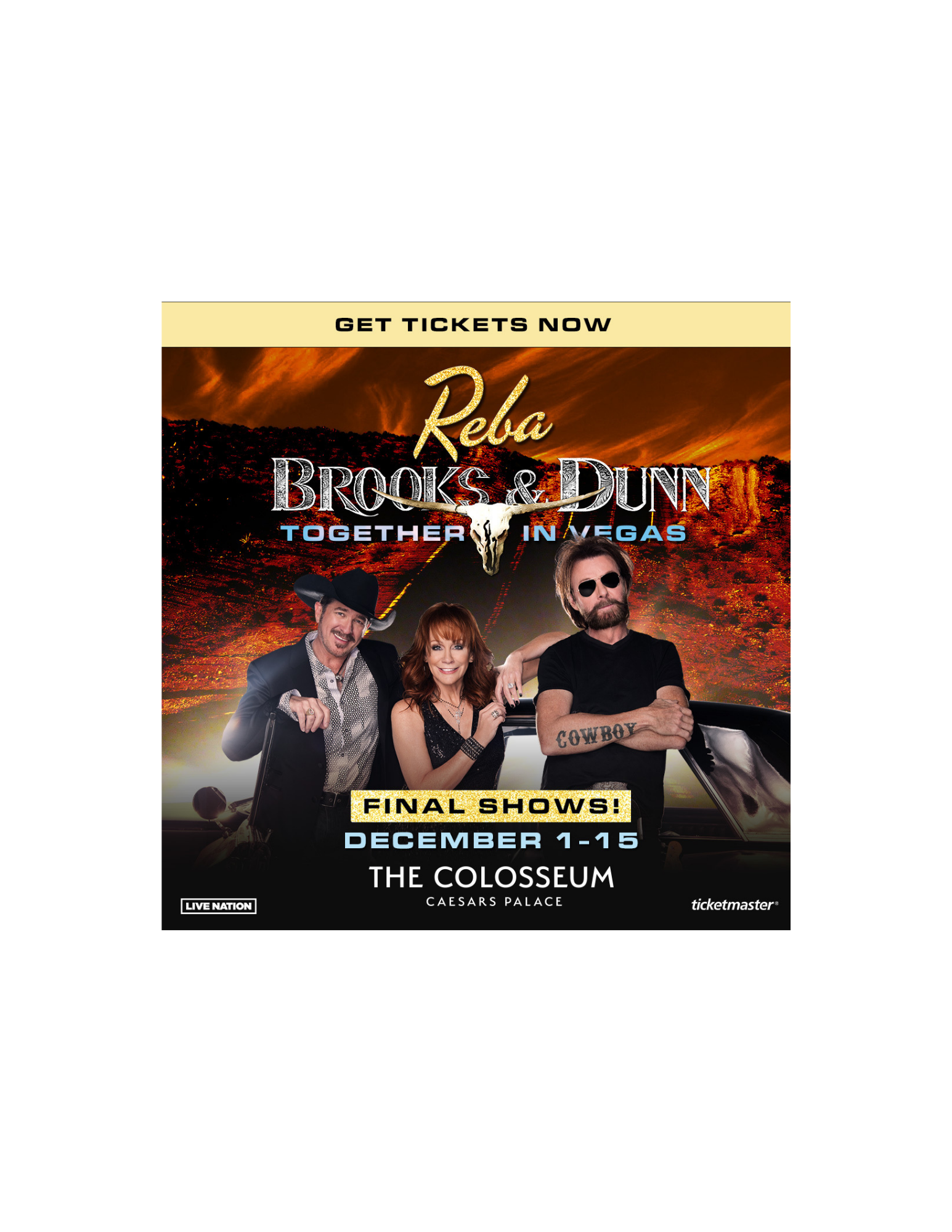 Reba with Brooks & Dunn Contest Rules