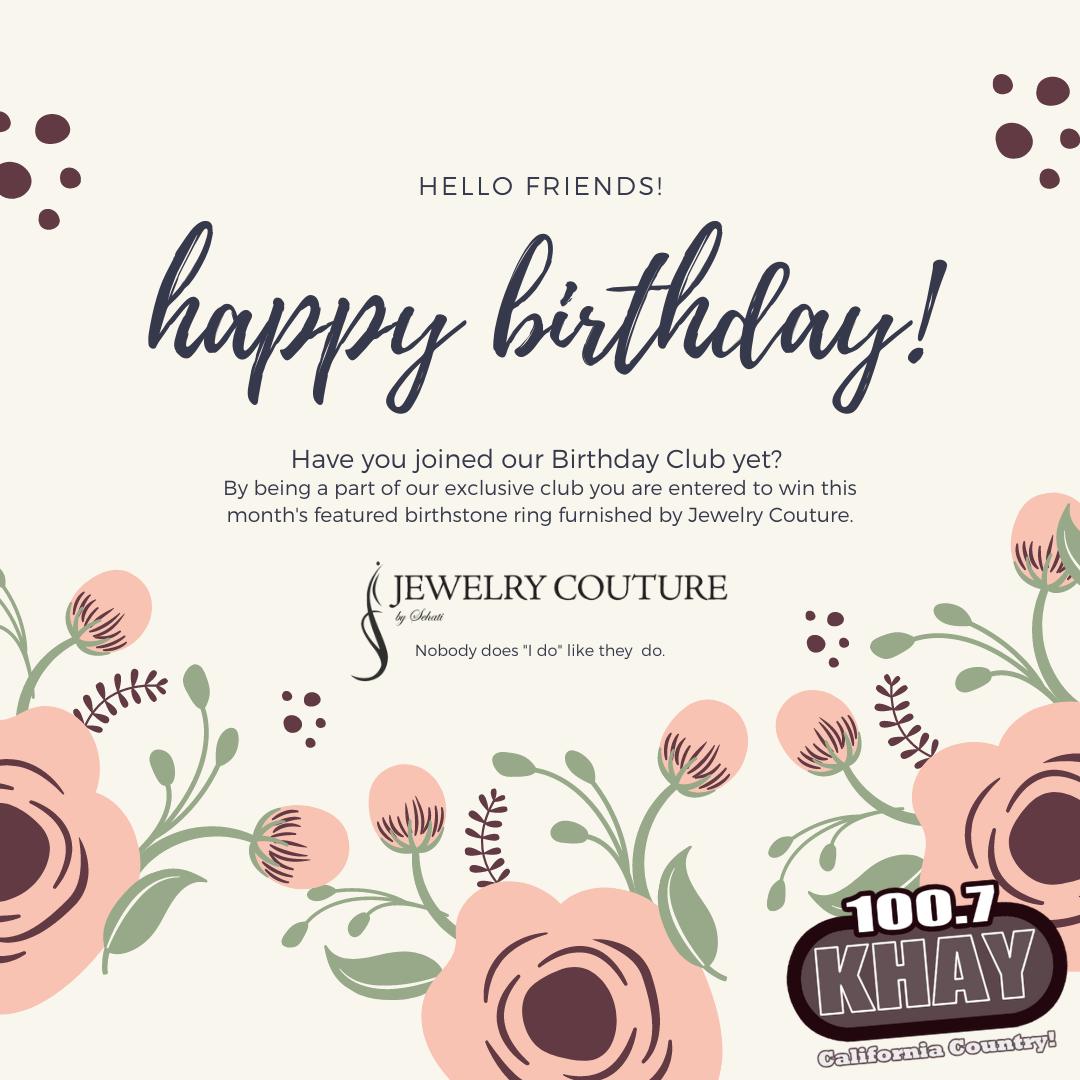 100.7 KHAY Birthday Club – Contest Rules