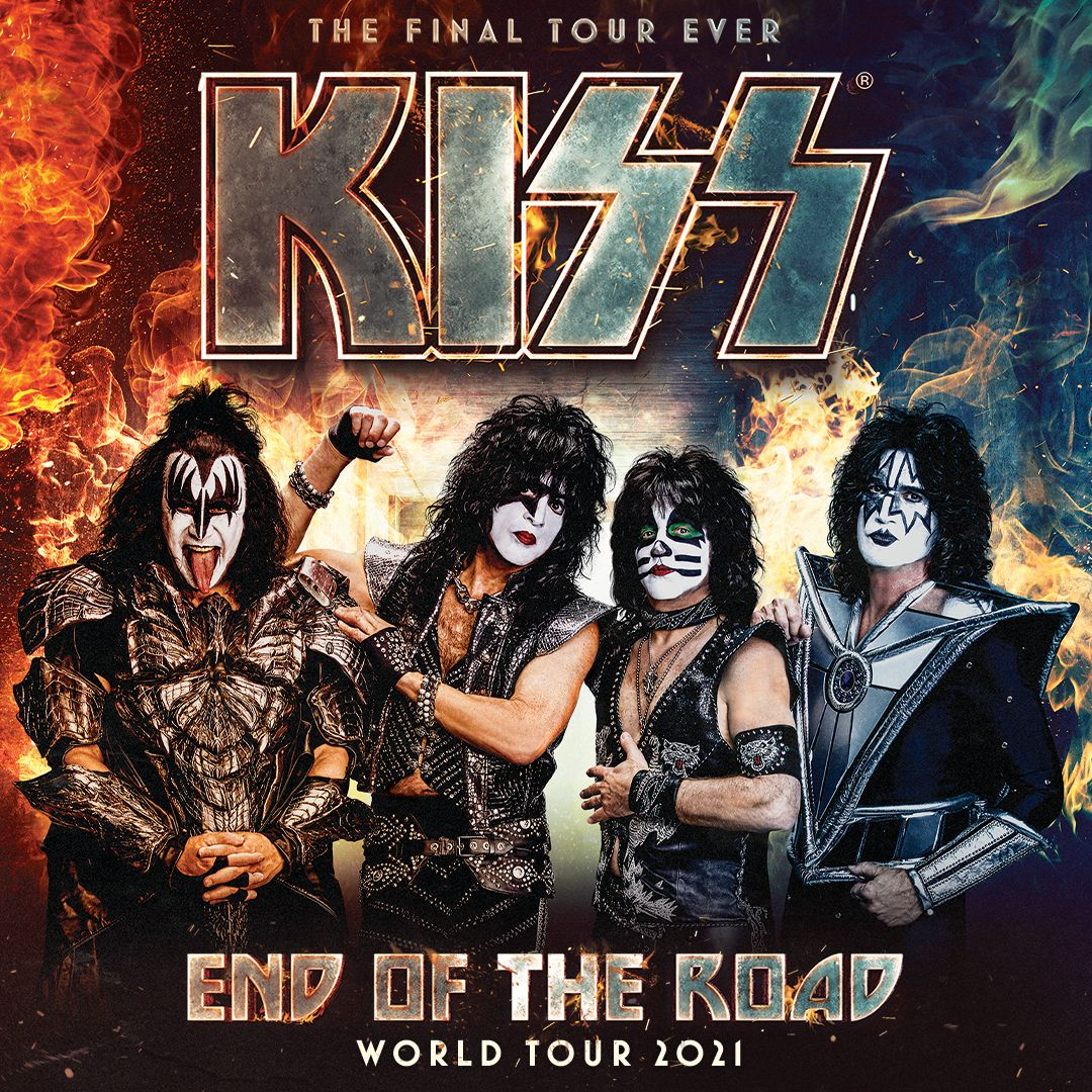 'Text to Win' Tickets to see KISS Live at Five Point Amphitheater!