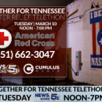 Together for Tennessee Telethon raises $13,770 for tornado victims!