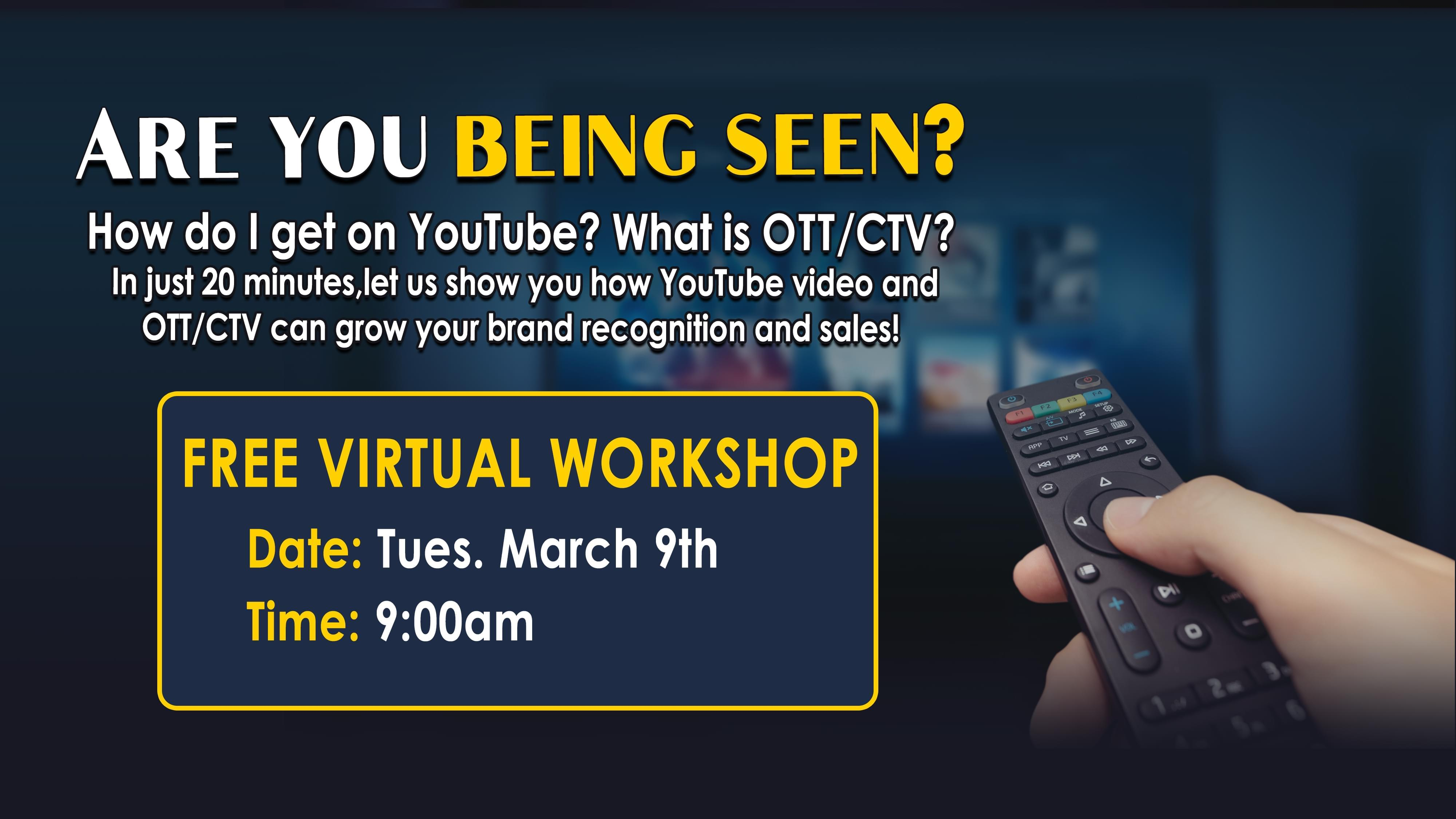 FREE Virtual Workshop