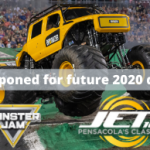 Monster Jam Postponed
