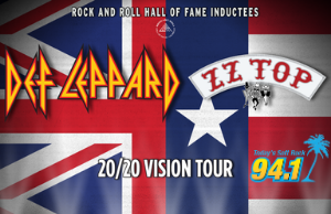 Soft Rock 94.1 Welcomes The 20/20 Vision Tour!