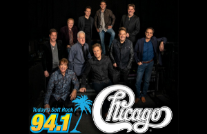Soft Rock 94.1 Welcomes Chicago Live In Concert!