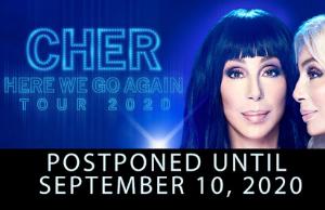 Cher Rescheduled Pensacola Show