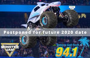 Monster Jam Pensacola Postponed