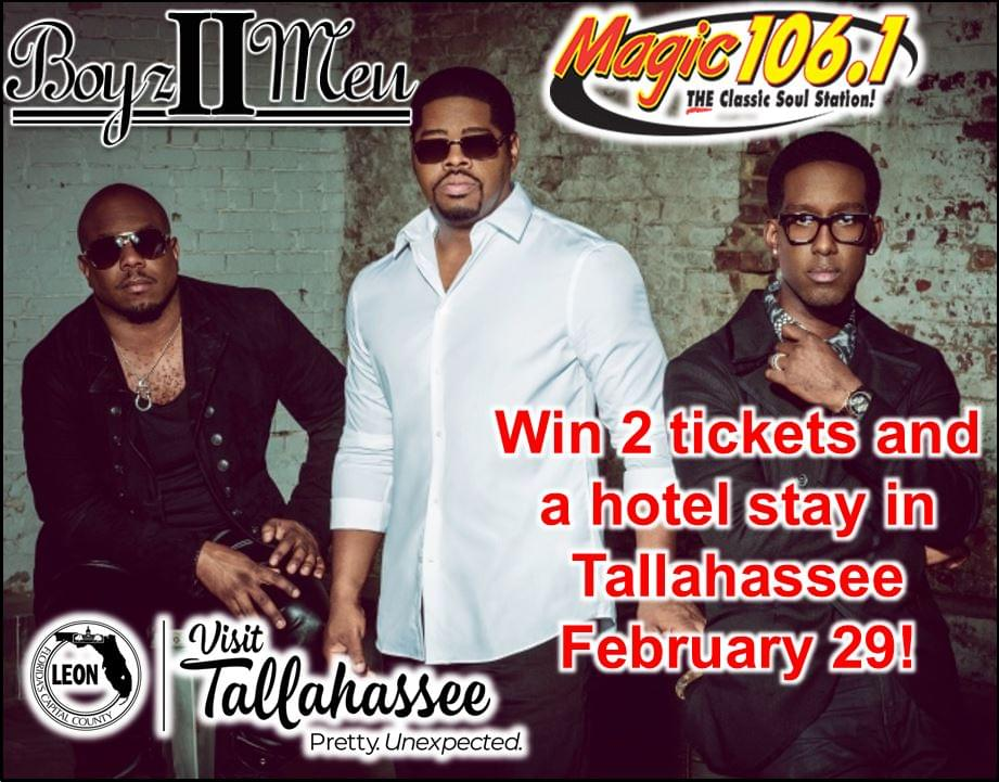Win a Trip to Tallahassee to See Boyz 2 Men