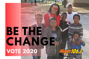BE THE CHANGE 2020