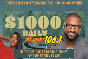 The Rickey Smiley $1000 Stimulus Contest