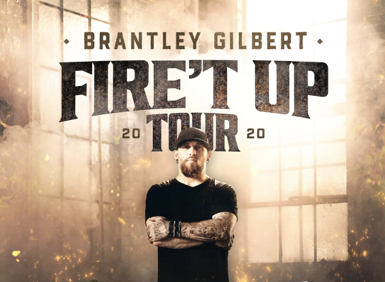 Brantley Gilberts Fire't Up Tour is coming to the The Wharf