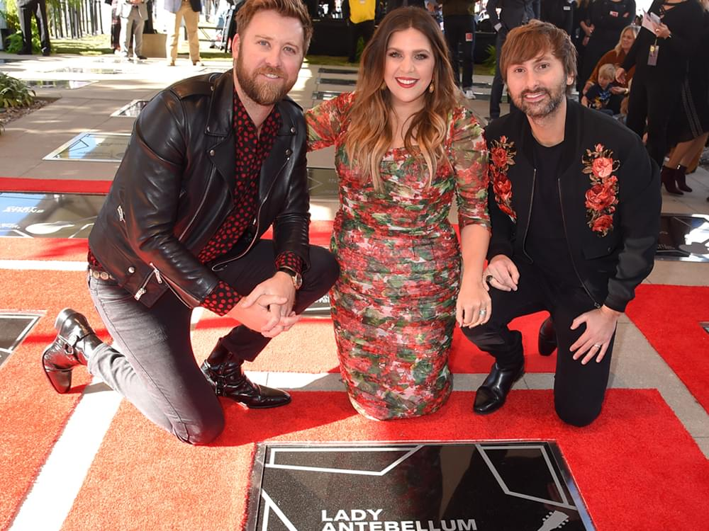 Lady Antebellum, Clint Black, Mac McAnally & More Inducted Into Music City Walk of Fame [Photo Gallery]