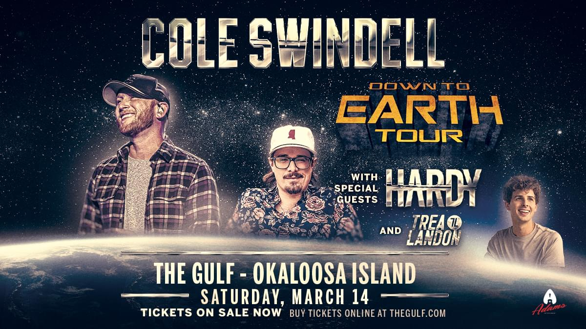 The Sound Waves Music Series: Cole Swindell, Hardy +Trea Landon