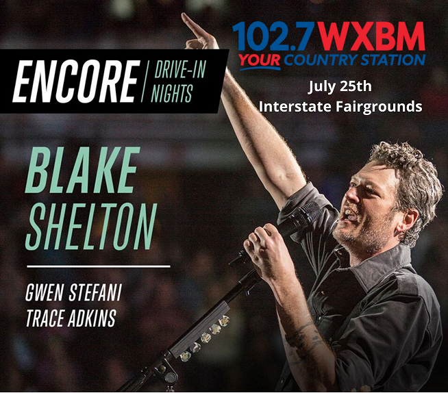 Enter to Win – Car Pass for Encore Drive-In Nights w/ Blake Shelton