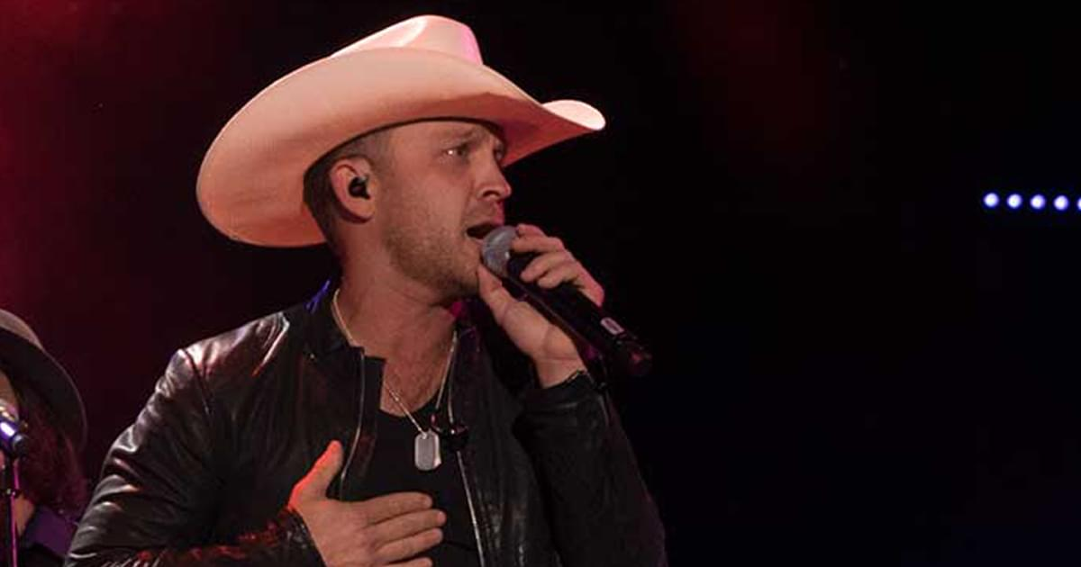 """Listen to Justin Moore's No. 1 Hit, """"Somebody Else Will,"""" From Upcoming Live Album"""