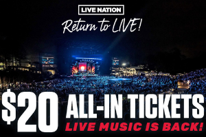 Return To Live – Pick Your Tickets!