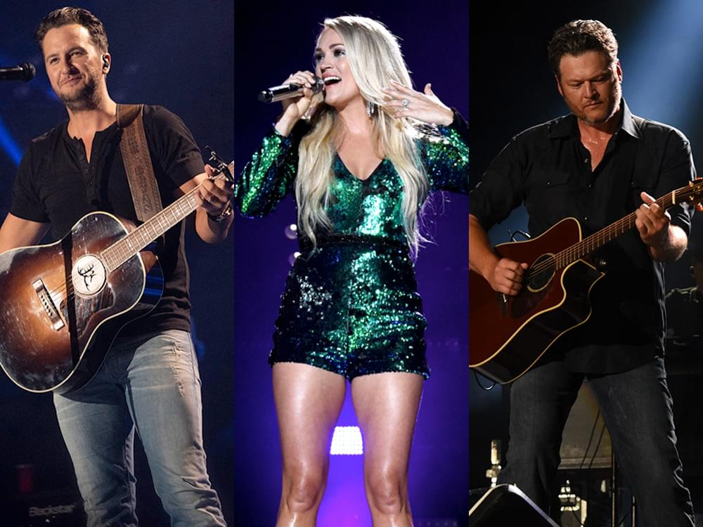 """TV Special """"ACM Presents: Our Country"""" to Feature Performances by Luke Bryan, Carrie Underwood, Blake Shelton & More"""