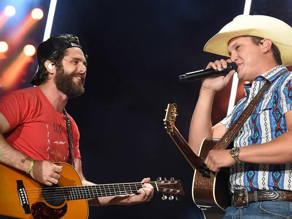 "Thomas Rhett Scores 15th No. 1 Single With ""Beer Can't Fix"" Featuring Jon Pardi"