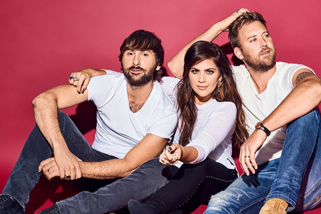 Lady Antebellum In Chicago With Kelsea Ballerini And Brett Young