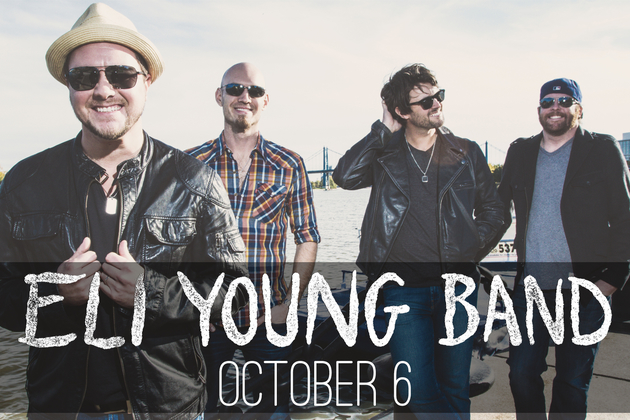 Eli Young Band In Concert In Peoria At The Limelight