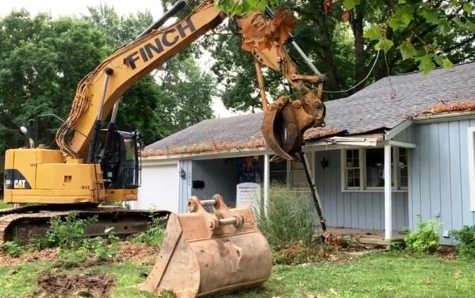 2020 St. Jude Dream Home Demolition Day Today In Peoria Heights