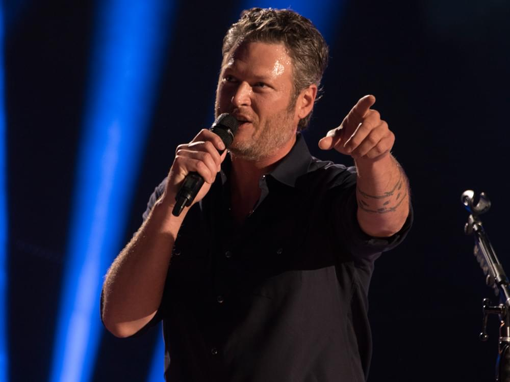 "Blake Shelton Is on a Mission to Get Craig Morgan's New Song, ""The Father, My Son & the Holy Ghost"" to No. 1"