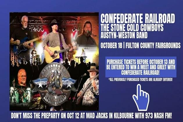 Confederate Railroad In Concert This Friday Fulton County Fairgrounds