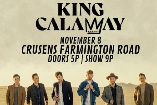 King Calaway Is Coming To Peoria, All Six Of Them