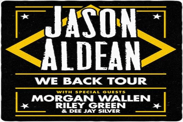 Jason Aldean We Back Tour 2020 Is Coming Wfyr Fm