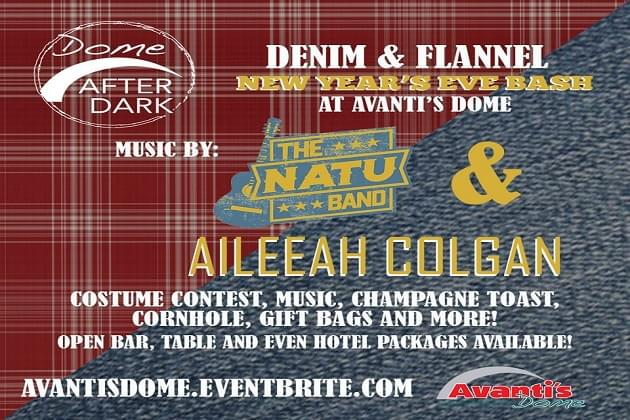 Ring In 2020 At Avanti's Dome With Denim & Flannel Bash