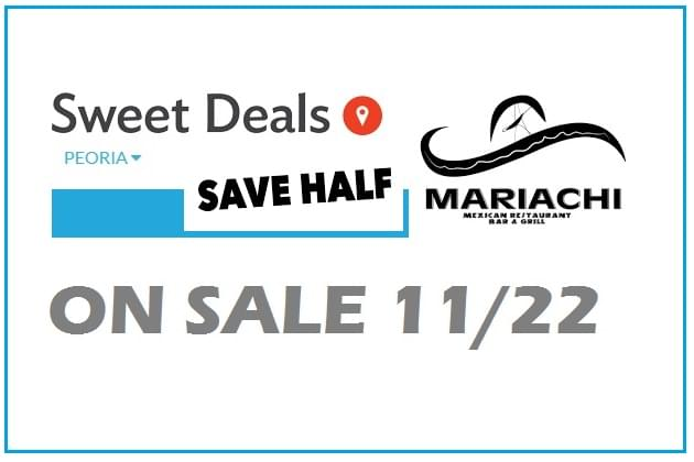 Mariachi's Is this Weeks Half Off Sweet Deal!