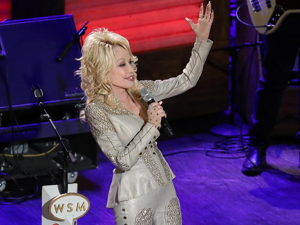 "Watch Dolly Parton Sing ""Jolene"" at Grand Ole Opry 50th Anniversary Show"