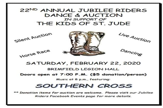 Join The Jubilee Riders This Saturday