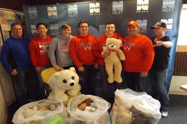 Morton High School Stops By With More Bears