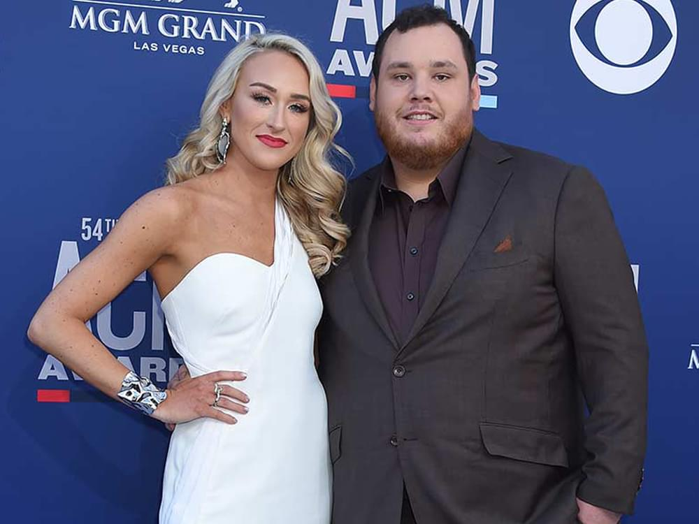 """Luke Combs Still Hoping to Get Married This Year: """"There's Not Much We Can Do About It But Plan Ahead"""""""