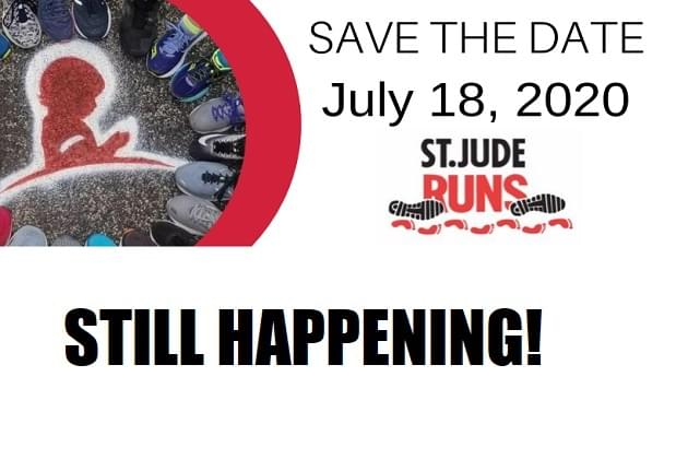 St. Jude Runs 2020 Is Still Happening, Just a Little Different!