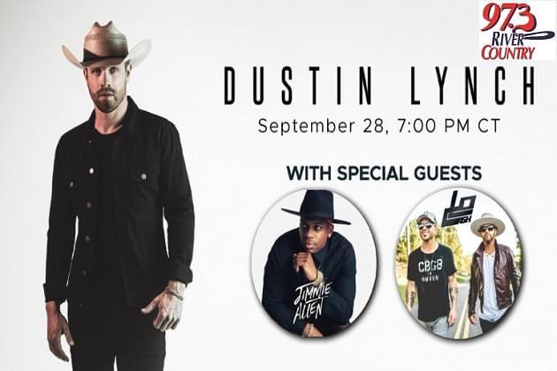 Monday's Live Virtual Concert! Dustin Lynch Plus Jimmie Allan & Lo Cash