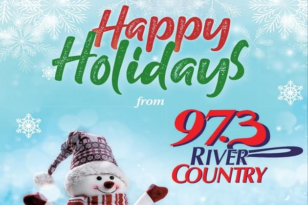 We're Playing Christmas Hits On 973 River Country This Season