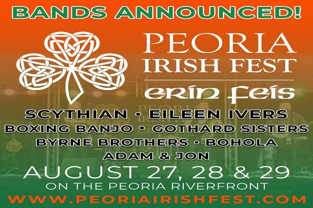 Erin Feis Is Back In  August On The Peoria RiverFront
