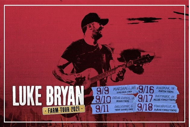 Did You Win Tickets Last Week? Luke Bryan Comes to 3 Sisters Park September 11