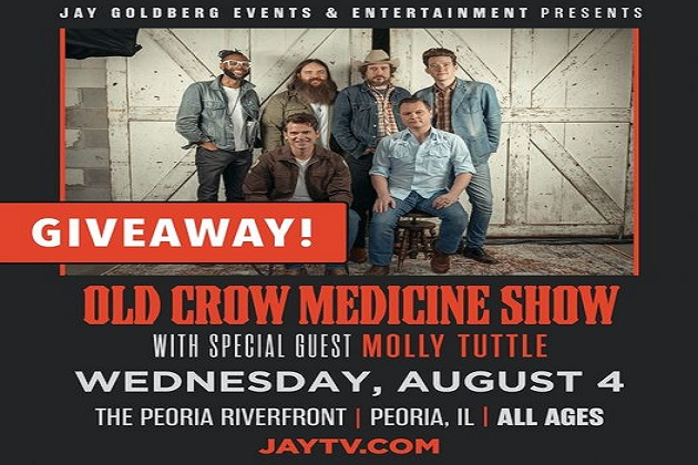 Old Crow Medicine Show Coming August 4th! Win Tickets Now!