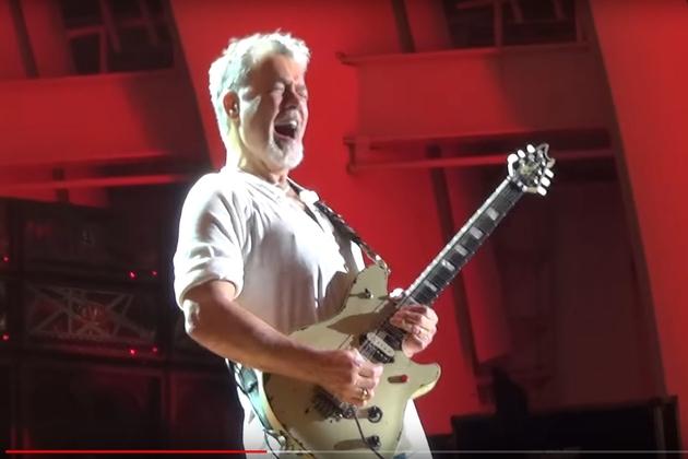 Eddie Van Halen Sues Over Shot Video Footage Wglo Fm