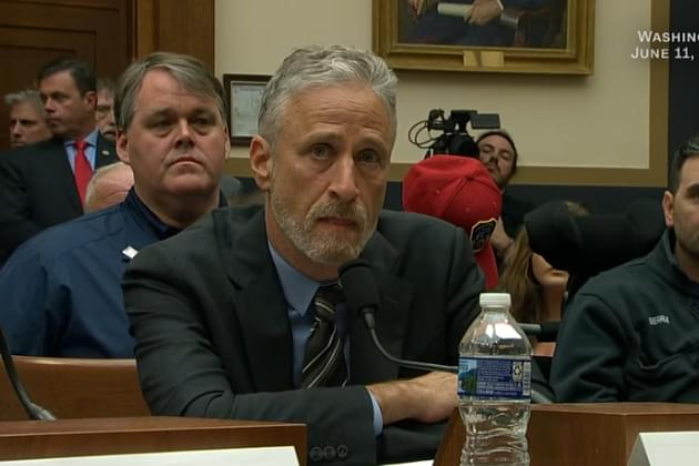 Jon Stewart Delivers Emotional Speech In Front Of An Empty Congress To Help 9/11 First Responders