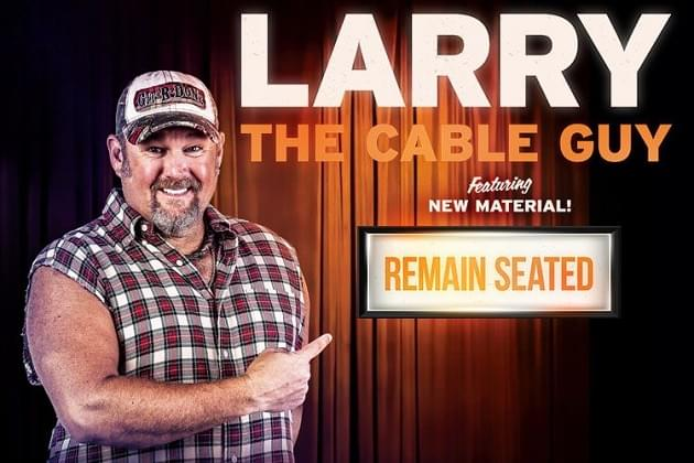 Larry the Cable Guy Is Back In Peoria! Listen & Win!