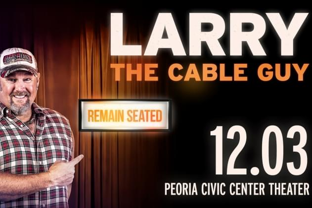 Larry The Cable Guy Chats With Doc Ahead Of LTCG's Peoria December Show! [AUDIO]